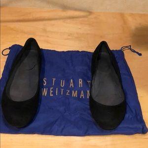 Stuart Weitzman suede ballet flats